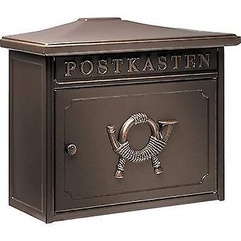 Burg Wächter 12830 SYLT 1883 K Letterbox Steel plate Copper (metallic) Key
