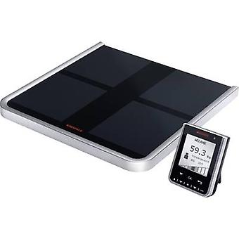 Soehnle Comfort Select Smart bathroom scales Weight range=150 kg Black/silver Wireless display