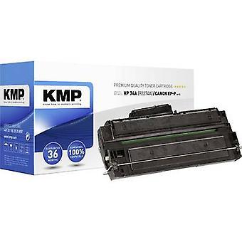 El cartucho de tóner KmP H-T2 reemplazó al cartucho de tóner compatible con los lados HP 74A, 92274A Negro 3350