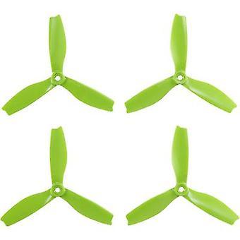 HQ prop 3-Blade Race Copter propeller som Bullnose 5 x 4 (12,7 x 10,2 cm) DPS5X4X3G