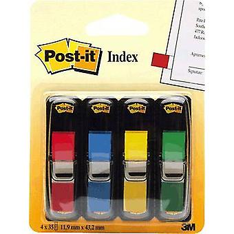 Post-it Sticky marking 7000144923 4 pads/pack Red, Yellow, Green, Blue
