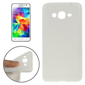Tapauksessa TPU suojakotelo matkapuhelin Samsung galaksi Grand Prime SM G530H valkoinen