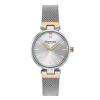 Kenneth Cole New York Damen-Armbanduhr Analog Quarz Edelstahl KC50543003