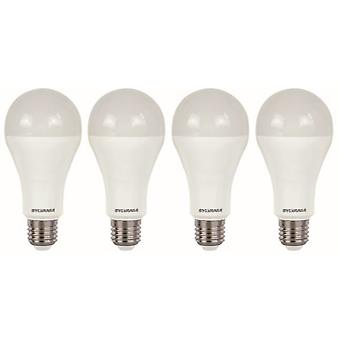 4 x Sylvania ToLEDo A66 Dimmable E27 V4 15W Homelight LED 1521lm [Energy Class A+]