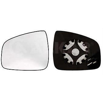 Left Passenger Side Mirror Glass (Heated) & Holder For Dacia LOGAN mk2 2012-2017
