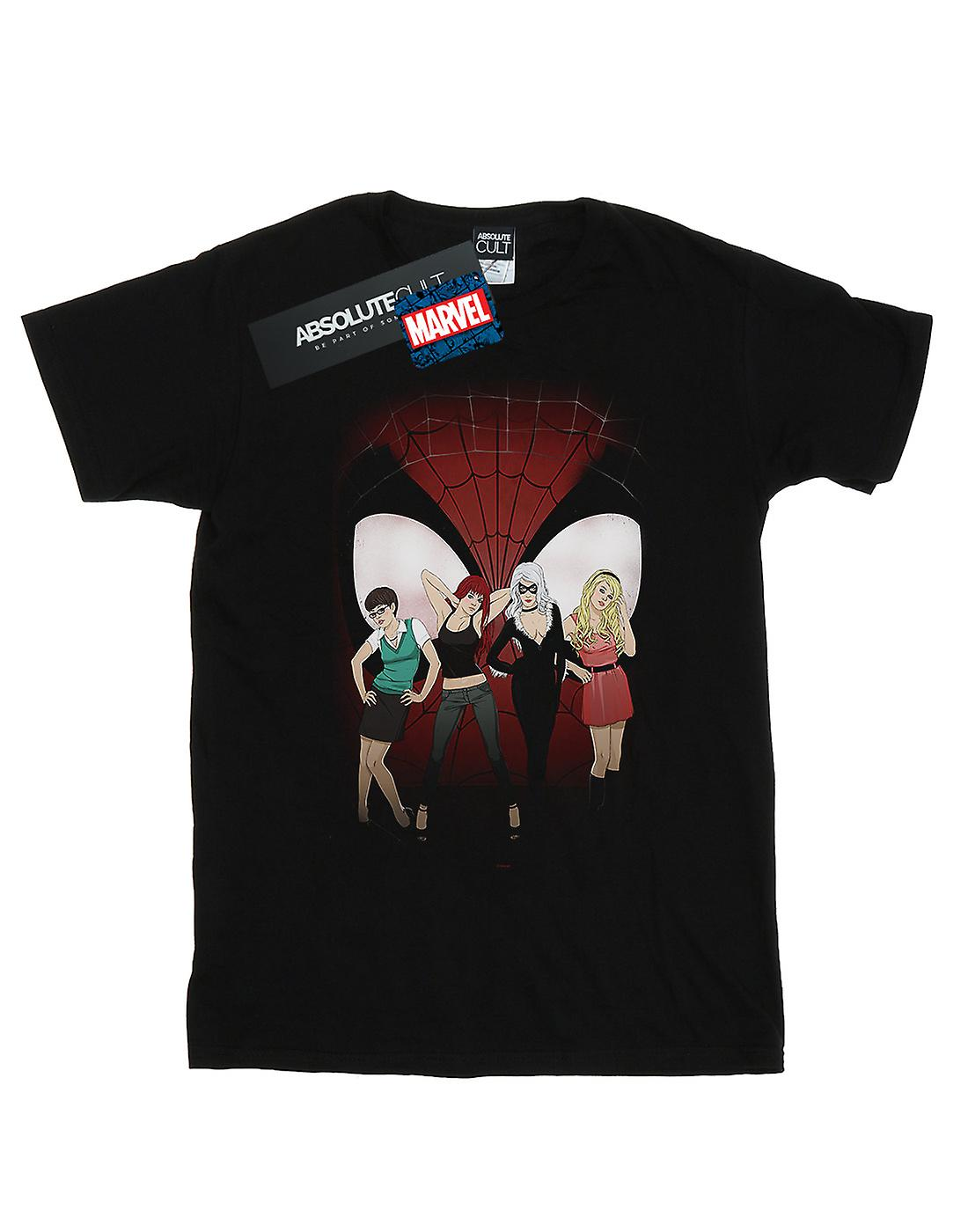 Marvel Men's Women Of Spider-Man T-Shirt