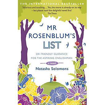 Herr Rosenblum Liste- oder freundliche Anleitung für angehende Englishma