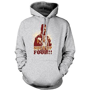 Mens Hoodie - Mr T Shut Up Fool A-Team