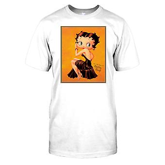 Betty Boop Vintage Cartoon - som min Form-Al Mens T-tröja