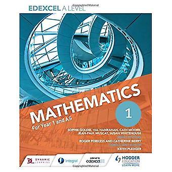 Edexcel A nivå matematikk år 1 (AS)