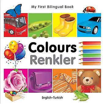 Min första tvåspråkiga bok - färger - svenska-turkiska
