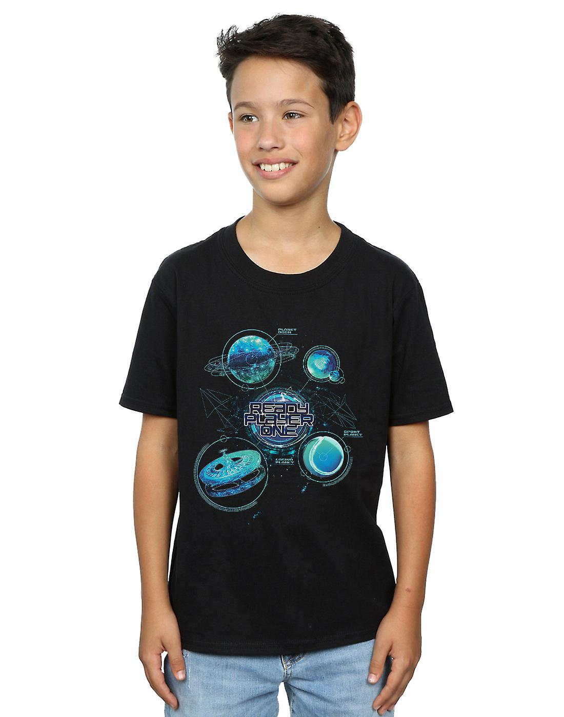 Ready Player One Boys Universe Map T-Shirt