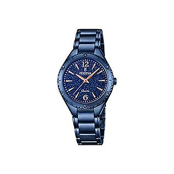 Festina watch Analog quartz ladies with stainless steel strap F16923/4