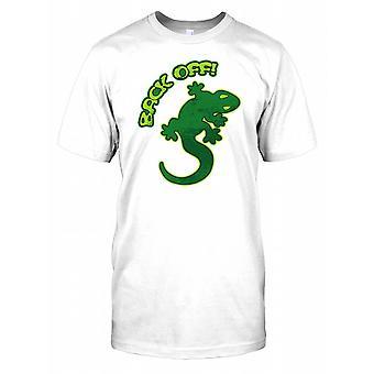 Zurücknehmen Sie-Gecko-Herren-T-Shirt