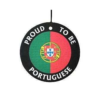 Trots op Portugese auto luchtverfrisser