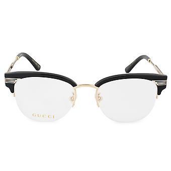 Gucci GG0201O 001 50 Square silmä lasien kehykset