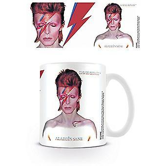 David Bowie Aladdin Sane Keramikmugg (py)