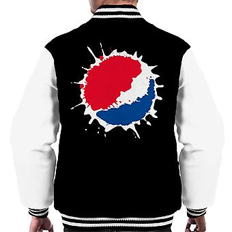 Pepsi Splash Logo Men's Varsity Jacket