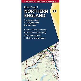 Northern England by AA Publishing - 9780749578954 Book