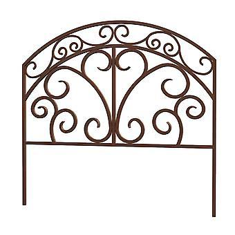 Universalmiddel bronse rustikk Italia border gjerde stilig
