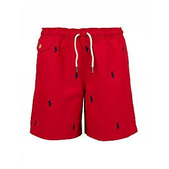 Polo Ralph Lauren Childrenswear Schiffli All Over Print Swim Shorts