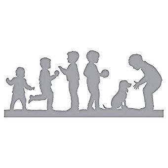 Spellbinders Little Boys at Play Die (S4-894)