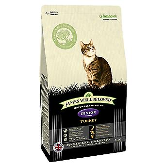 James Wellbeloved Senior Cat Turchia cibo secco - 1,5 kg
