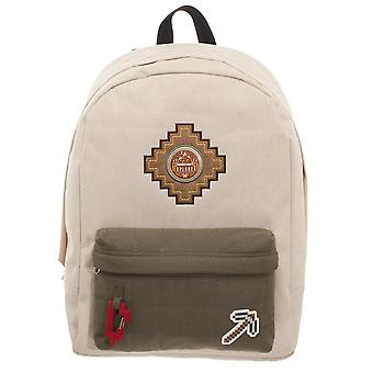Backpack - Minecraft - Beige New Licensed bp6f8amnc