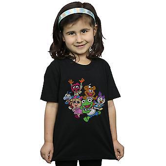 Disney meisjes de Muppets Muppet Baby's kleurgroep T-shirt