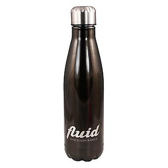Fluid 500ml Cool or Hot Stainless Steel Reusable Water Bottle Haematite