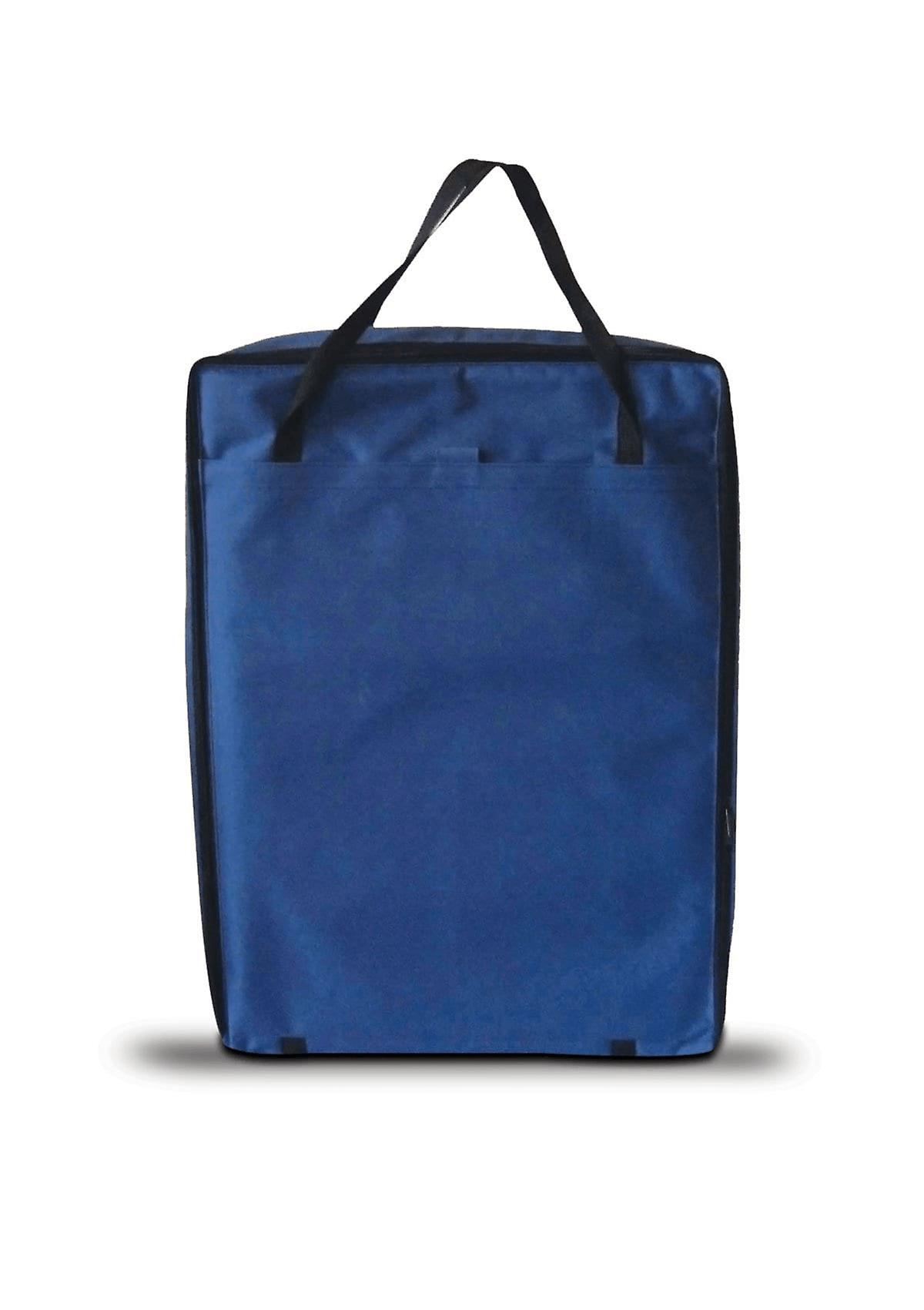 """OLPRO 22"""" TV Storage Bag Blue Padded for Flat Screen TVs with Pocket for Cables"""