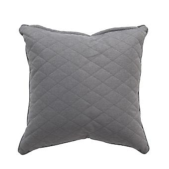 Beach7 | Kussen 'Quilted' |  Stone Grey | accessoires
