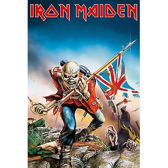 Poster - Studio B - Iron Maiden - Troopers 36x24