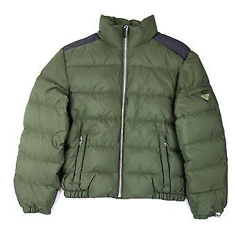 Prada Piumino nylon Piuma puffer Jacket oliven/Nero