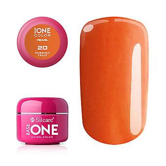 Base one-Pearl-Passion fruit 5g UV Gel