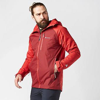New Technicals Men's 2L Shell Wet-Weather Adventure Jacket Red
