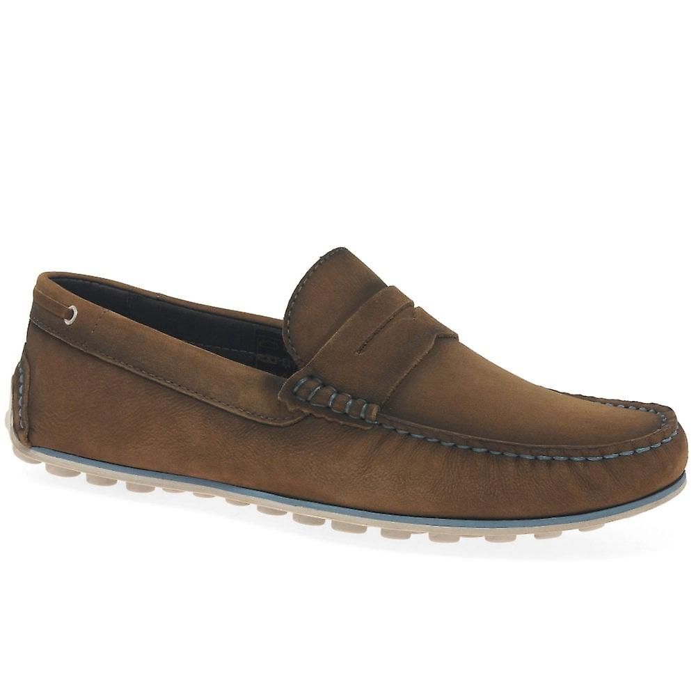 Savelli Exteme menns Suede Penny loafers