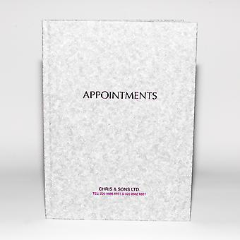 Quirepale Appointment Book 6 Colonne Assistant Grey