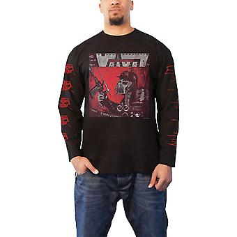 Voivod T Shirt War And Pain Band Logo new Official Mens Black Long Sleeve