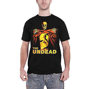 The Undead T Shirt Poster new Official Vintage Horror Mens Black