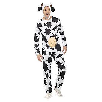 Mens Kuh Kostüm