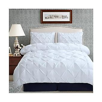 Dreamz Diamond Bed Duvet Quilt Cover King