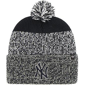 Yankees de New York 'apos;47 Static Knitted Bobble Beanie Hat Navy 02