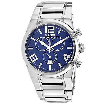 Roberto Bianci Herren's Rizzo Blaue Zifferblatt Uhr - RB90730