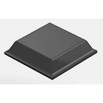 3M 7000001902 noha štvorec čierna (š x H) 12,7 mm x 3,1 mm 1 ks (s)