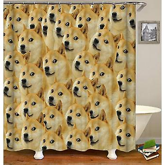 Doge, Doge, Doge... Shower Curtain