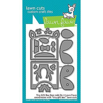 Lawn Cuts Custom Craft Die - Tiny Gift Box Deer Add - On