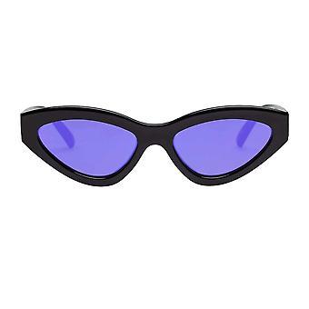 Le Specs Synthcat Black Cat Eye Sunglasses