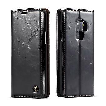 Kotelo Samsung Galaxy S9 Plus mustalle kortinpidikkeelle