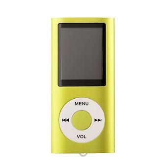 Ohut MP3-soitin ja FM-Radio tuki-vihreä